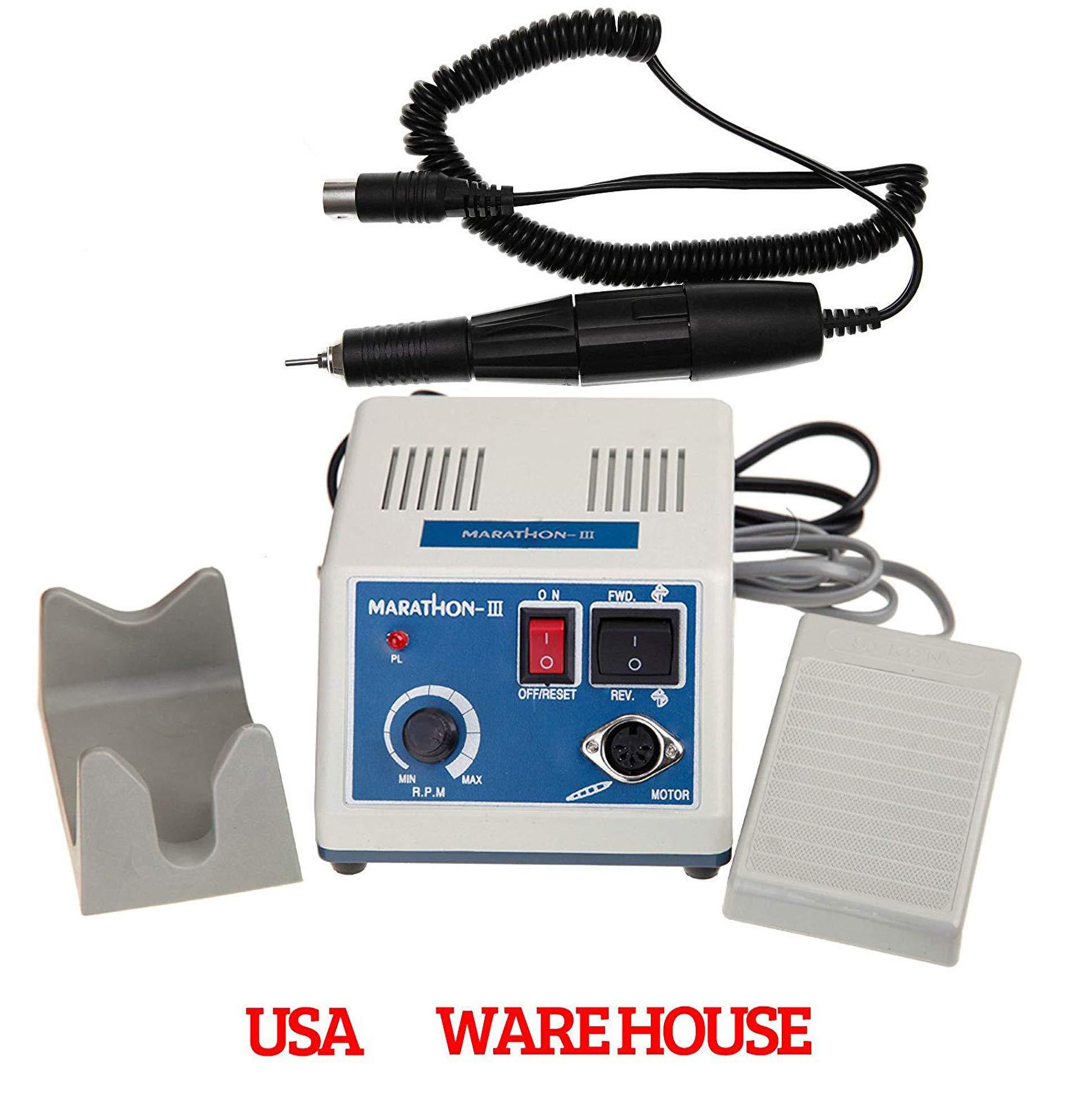NSKI USA Lab MARATHON -III MICROMOTOR Electric 35000 RPM Polisher Unit N3