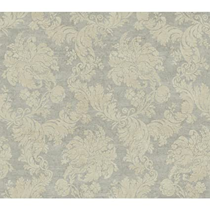 a8a1097c80 Image Unavailable. Image not available for. Color  York Wallcoverings  EW6750 Vintage Luxe Regent Damask Wallpaper ...