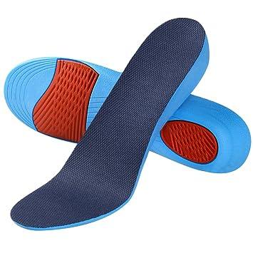 SOUMIT Erhöhung Höhe EinlegesohleWeich Memory Schaum Schuheinlagen