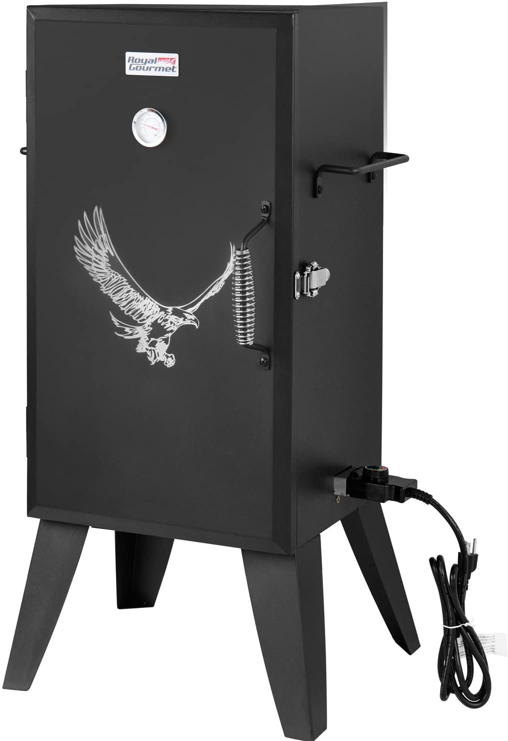 Best Adjustable: Royal Gourmet electric smoker