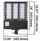 1000LED LED Shoebox Pole Light, 300W, AC347V