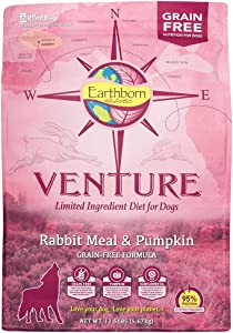Venture Rabbit Meal & Pumpkin Limited Ingredient Grain Free Dry Dog Food