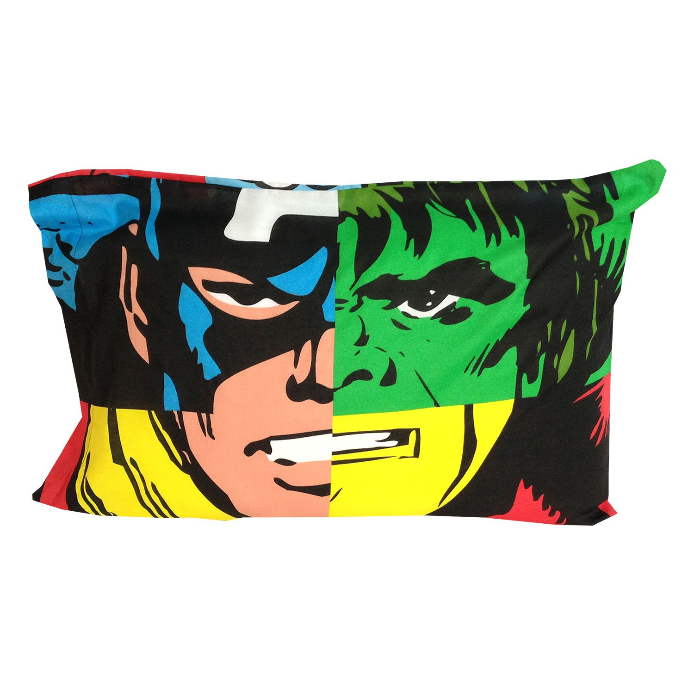 Amazon.com: 2pc Marvel Avengers Funda de almohada Set ropa ...