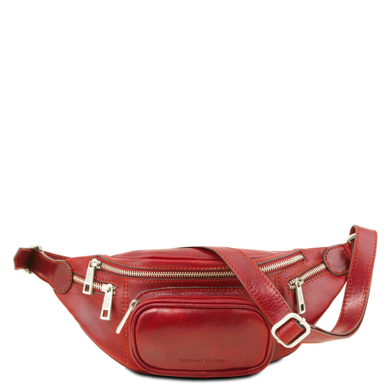 Tuscany Leather - Leather Fanny Pack Red - TL141305/4