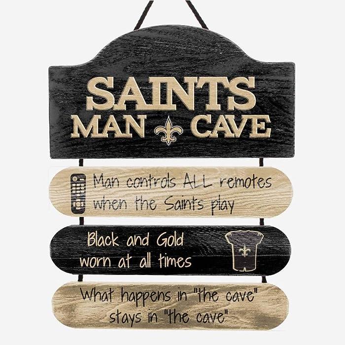 Top 9 Saints Man Cave Decor