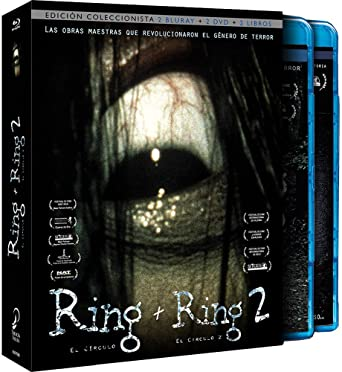 Pack The Ring + The Ring 2 Blu-Ray+Dvd+Libro - Edicion Coleccionista Blu-ray: Amazon.es: Nanako Matsushima, Miki Nakatani, Hiroyuki Sanada, Yuko Takeuchi, Hitomi Sato, Yoichi Numata, Hideo Nakata, Nanako Matsushima, Miki Nakatani: Cine
