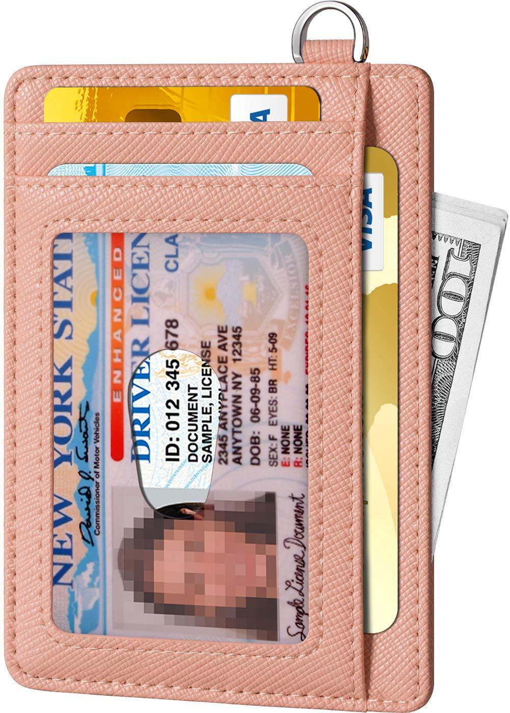 FurArt Slim Minimalist Wallet, Front Pocket Wallets, RFID Blocking, Credit Card Holder with Disassembly D-Shackle by FurArt (Image #2)
