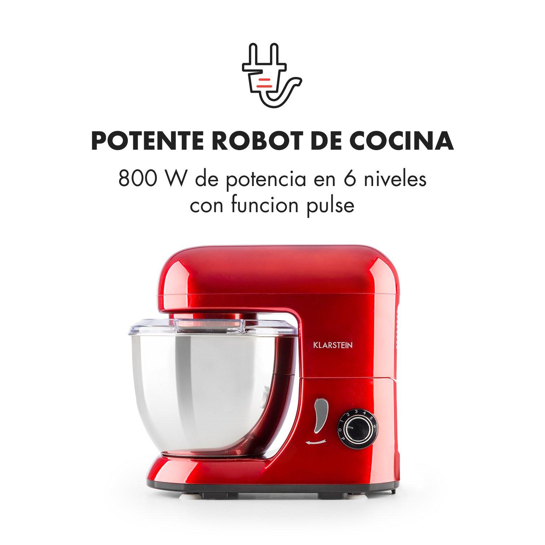 Klarstein Bella Pico Mini • Robot de cocina • Batidor • Amasador ...