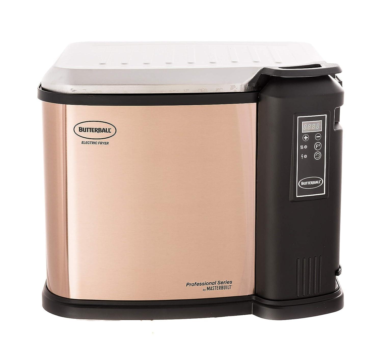 Cinnamon Masterbuilt Butterball XXL 1650W Digital Electric 22 lb Turkey Fryer