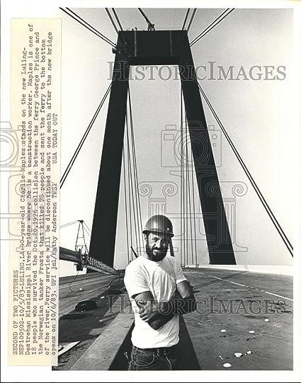 Amazon com: Vintage Photos 1983 Press Photo Charlie maples
