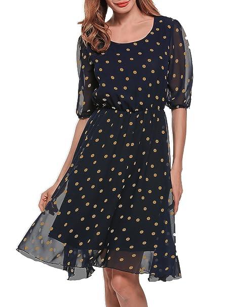 Kleid knielang halbarm