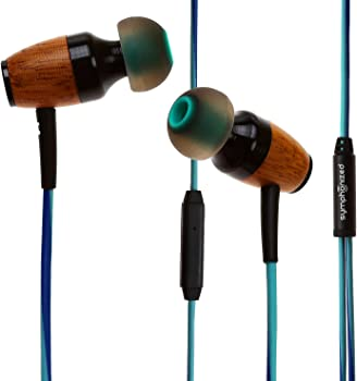 Symphonized DRM Genuine Wood In-ear Headphones