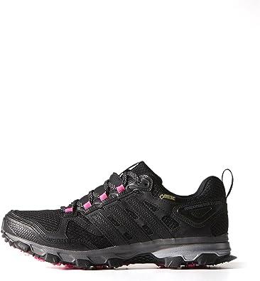 adidas Response Trail 21 GTX Zapatos de Correr para Mujeres, M18797, Black - BLACK1/BLACK1/NEONPK: Amazon.es: Deportes y aire libre