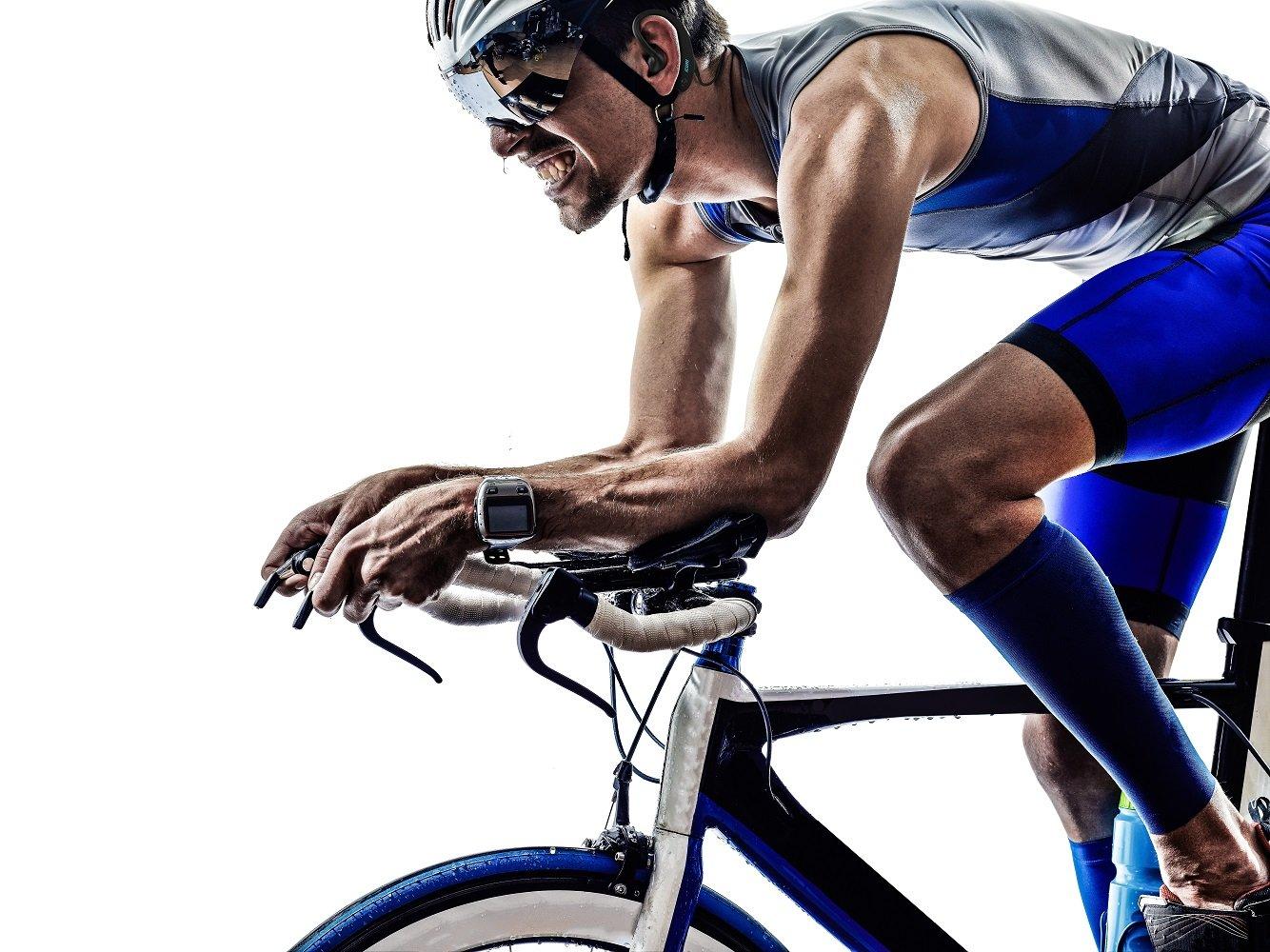 KuaiFit Sport Headphones - Heart Rate, Accelerometer, MP3, 8GB Memory, BLE, ANT+, Sweatproof, Audio Coach - Run Cycle Gym Triathlon by KuaiFit (Image #5)