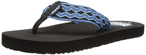 Reef Smoothy 30th Anniver, Infradito uomo, Blu (Bleu (Black/Denim)