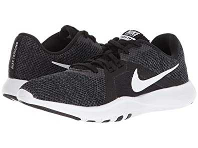 4b3ad0dfff5a Image Unavailable. Image not available for. Color  Nike Womens WMNS Flex TR  8 Wide Black White ...