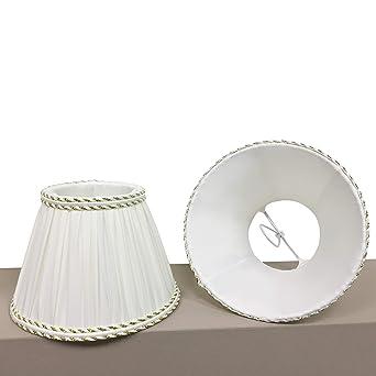 onli – Tulipa para lámpara/lámpara/lámpara de tela color marfil ...