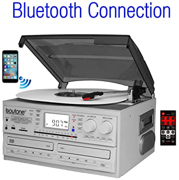 Boytone BT 29W, Bluetooth Dual CD Player And Recorder CD2 To CD1, AM