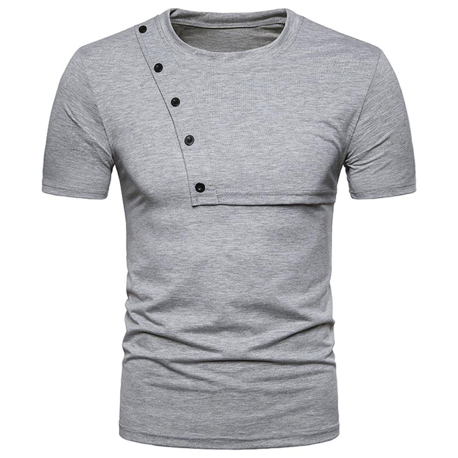 09fffed1 ☆SPE969 Top Blouse Hot Sale Men's Casual Slim Zipper Short Sleeve T Shirt  ☆Friends come and go, but the championship banner has been there, blowing  in the ...