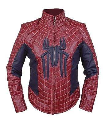 Feather Skin Veste 2 Veste Cuir Homme Spiderman wwRBdrq