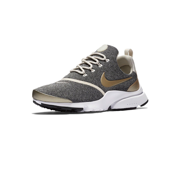NIKE Presto Fly Womens Running Shoes B0785KKYBV 10 B(M) US|Lt Orewood Brn/Blur-black-white