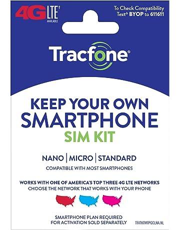 SIM Cards & Prepaid Minutes | Amazon com
