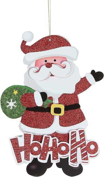 Adesivi Babbo Natale.Eozy Babbo Natale Adesivi Di Vetro Finestra Parete Natalizia Christmas Decorazione Natalizie Stickers Amazon It Casa E Cucina