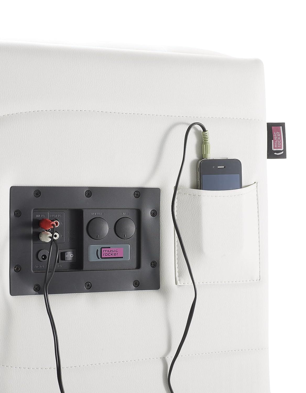 Musicrocker Cube Soundwürfel weiß