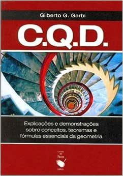 C.q.d. - Como Queríamos Demonstrar - 9788578610753