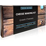 Greek Cheese Making Kit – make halloumi, feta and goats cheese – easy for beginners