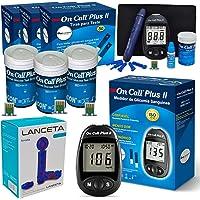 Kit Aparelho Glicose Glicemia On Call Plus 150 Tiras + Lanceta