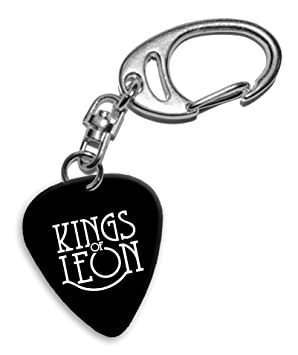 Kings of Leon Band Logo Llavero de púa de guitarra (H ...