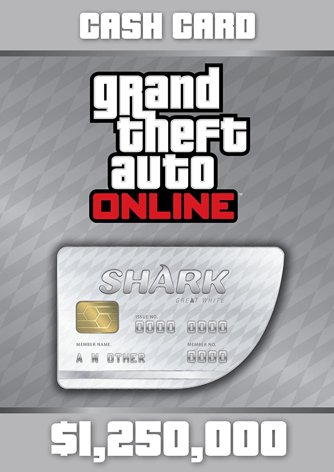 Amazon com: Grand Theft Auto V: Great White Shark Cash Card
