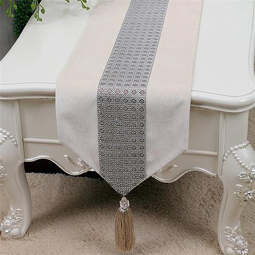XIXI Telas elegantes y simples de la bandera del escritorio ...
