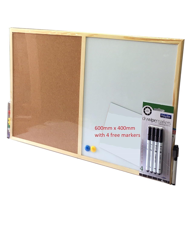 Portable Cork Board Notice Pin Board Office Memo Photo Board School Supplies