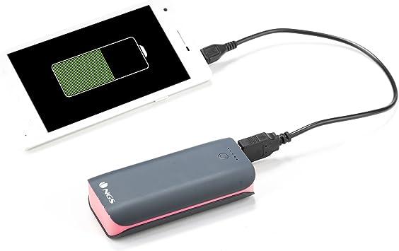 NGS Powerpump 4400 Duo - Batería portátil para tablets y smartphones: Amazon.es: Electrónica