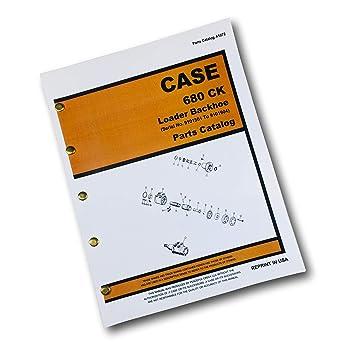 Amazon.com: J I Case 680 - Cargador de ck y remolque (manual ...