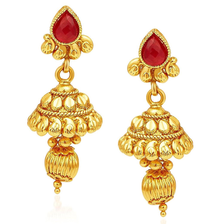 Buy Sukkhi Jewellery Set for Women (Golden) (2301NGDLPV2130 ...