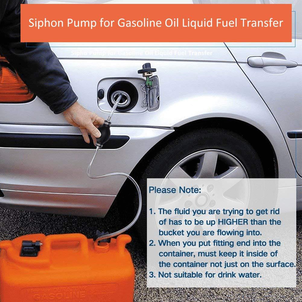 Wadoy Bomba de Transferencia de Gas/Aceite/Agua/Combustible ...