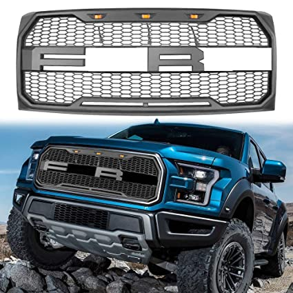 Amazon Com Mtorfansclub Led Grille Grill Front Bumper For For 2009