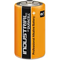 Duracell Industrial D Cell Batteries Box of 10 Alkaline-Manganese Dioxide Battery,DUR082977