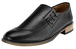 Adreno Slip-On Faux Leather Men's Formal Wear Shoes -Size Available
