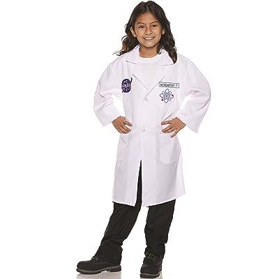 UNDERWRAPS Kid's Children's Rocket Scientist Lab Coat Costume Childrens Costume, Multi, Large: Clothing