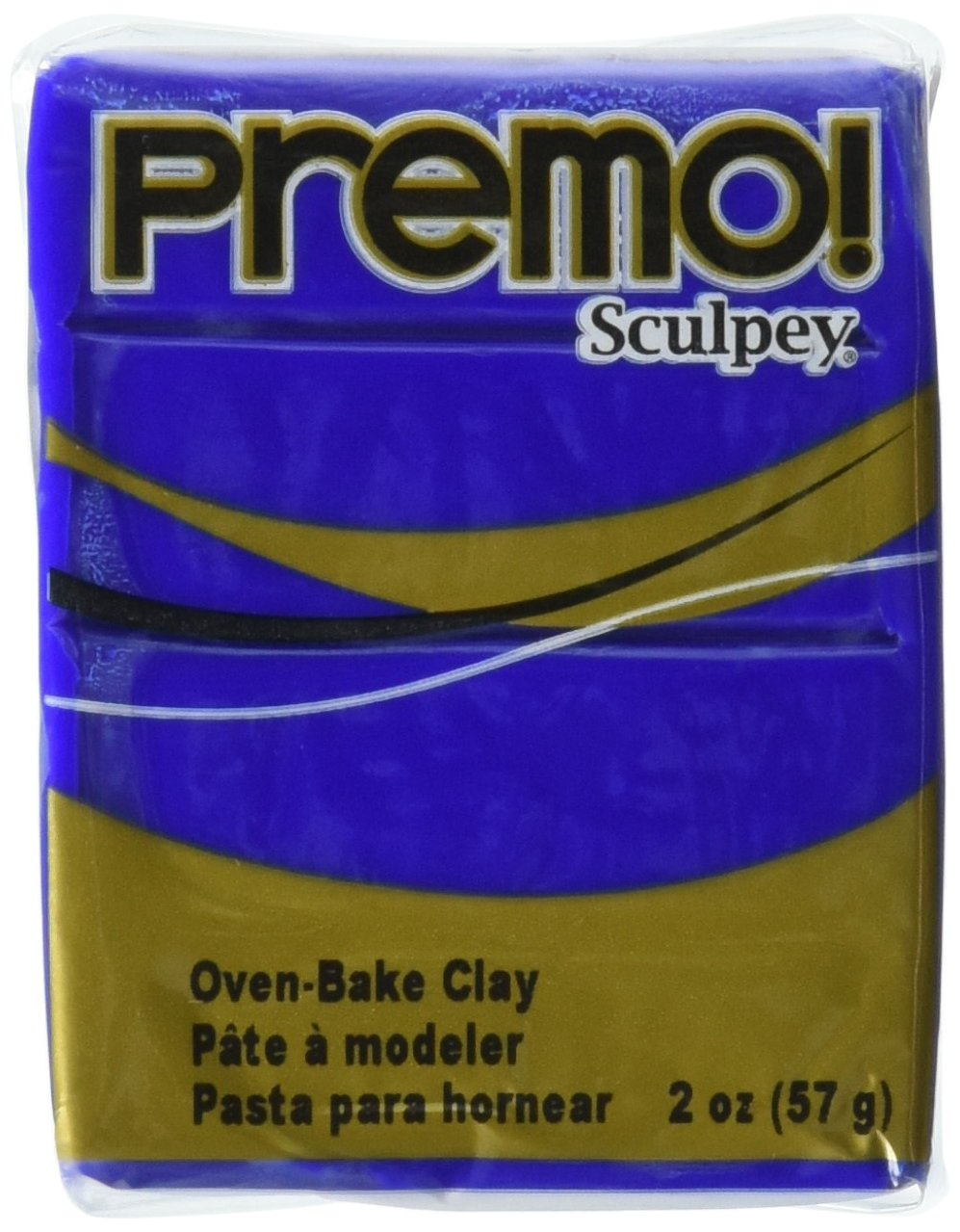 Sculpey Premo Ultramarine Art Clay, 2-Ounce, Blue Hue