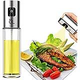 LAO XUE Olive Oil Sprayer Food-Grade Glass Bottle Gispenser for Cooking, BBQ, Salad, Kitchen Baking, Roasting, Frying