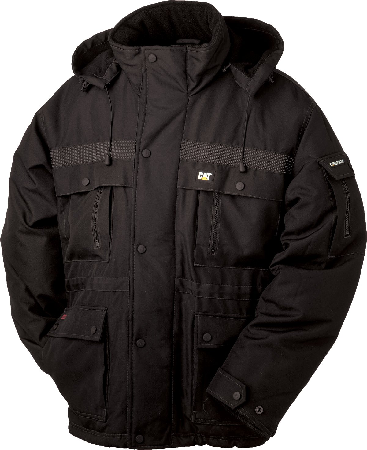Caterpillar Men's Big Heavy Insulated Parka (Regular and Big & Tall Sizes), Black, X Large Tall by Caterpillar