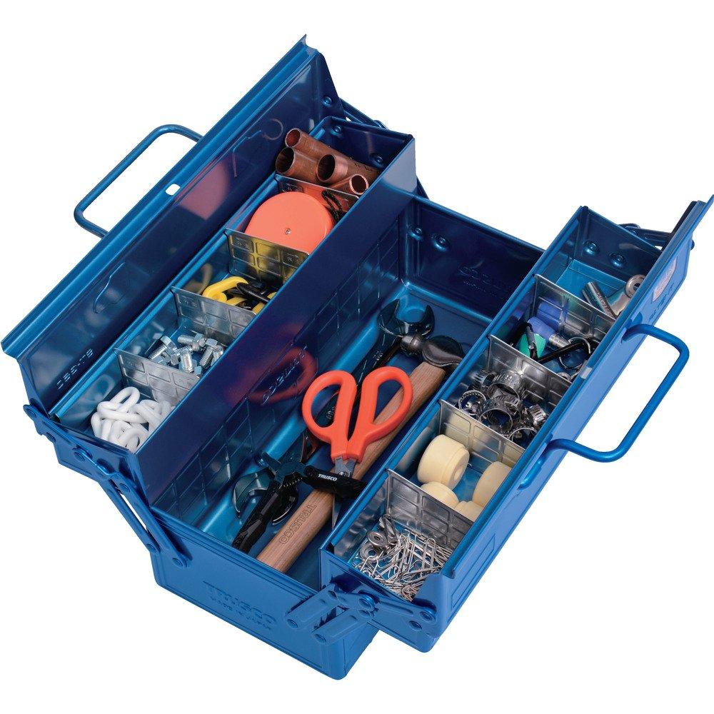 両開きの工具箱