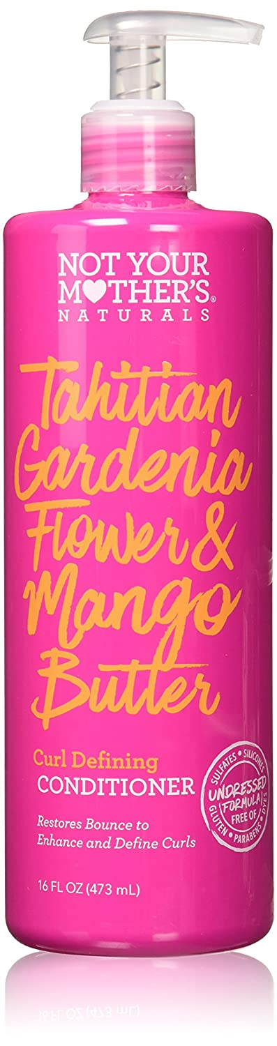 Not Your Mother's Naturals Tahitian Gardenia Flower Butter Curl Defining Conditioner, Basic, Mango, 16 Fl Oz