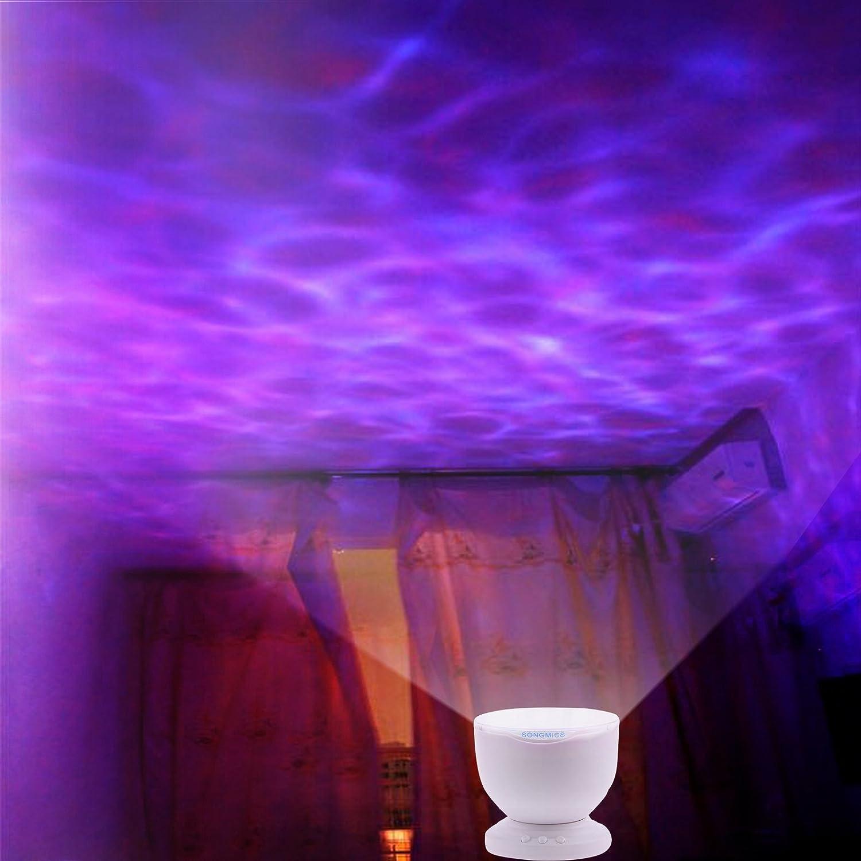 Songmics Multicolored Romantic LED Night Light: Amazon.co.uk ...