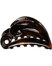 Caravan Tortoise Shell Hair Claw, Open Swirl
